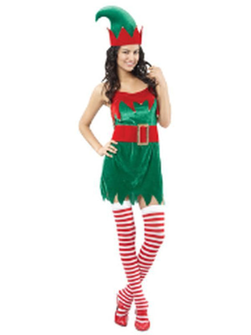 Elf - Adult - Medium-Costumes - Women-Jokers Costume Hire and Sales Mega Store