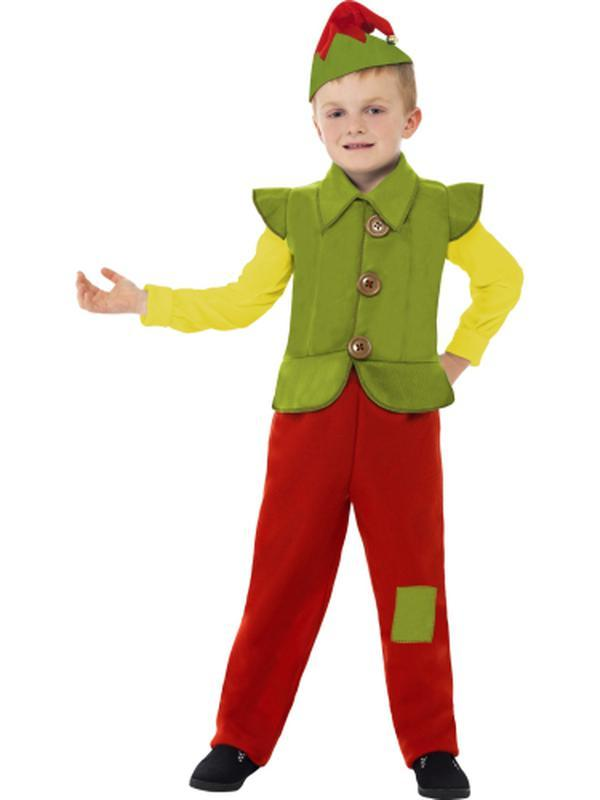 Elf Boy Costume-Jokers Costume Mega Store
