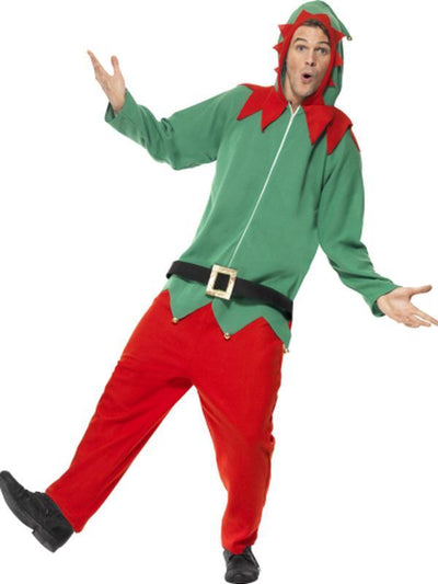 Elf Costume, All in One-Costumes - Mens-Jokers Costume Hire and Sales Mega Store