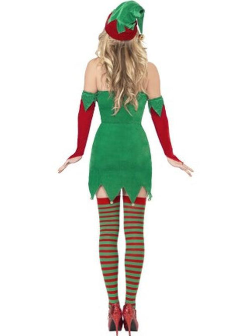 Elf Costume, with Dress, Hat and Gauntlets-Costumes - Women-Jokers Costume Hire and Sales Mega Store