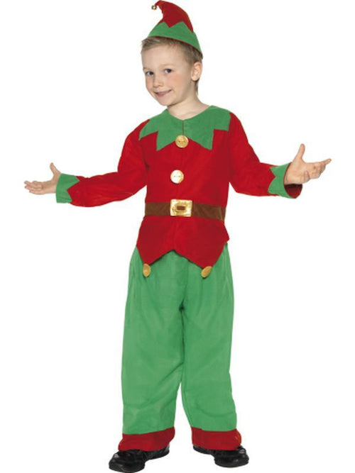 Elf Costume-Costumes - Boys-Jokers Costume Hire and Sales Mega Store