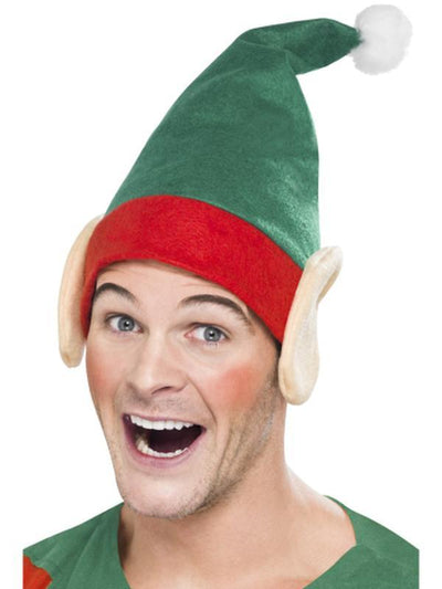Elf Hat - Green-Hats and Headwear-Jokers Costume Hire and Sales Mega Store