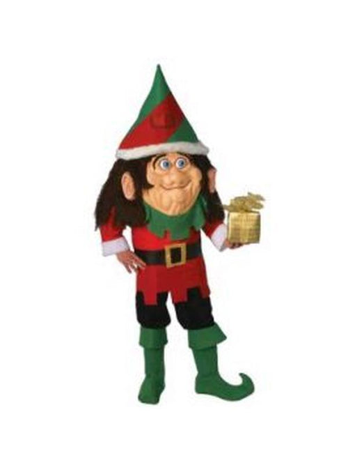 Elf Mascot Costume - Size Std-Costumes - Mens-Jokers Costume Hire and Sales Mega Store