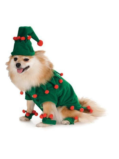 ELF PET COSTUME - SIZE L-Costumes - Pets-Jokers Costume Hire and Sales Mega Store