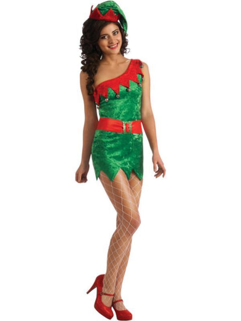 Elf - Size M-Costumes - Women-Jokers Costume Hire and Sales Mega Store
