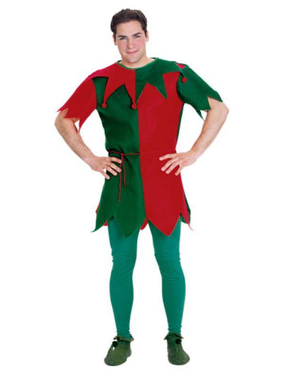 Elf Tunic Classic - Size Std-Costumes - Mens-Jokers Costume Hire and Sales Mega Store
