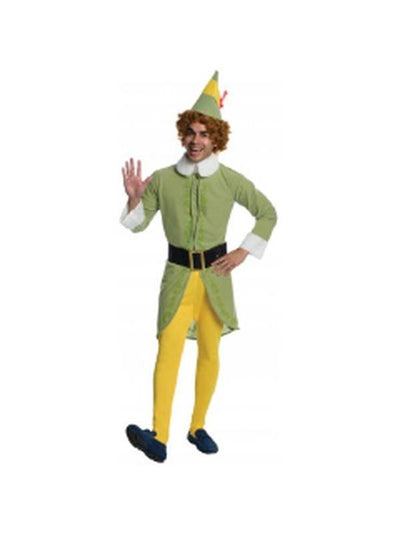 Elf'S Buddy Costume - Size Std-Costumes - Mens-Jokers Costume Hire and Sales Mega Store