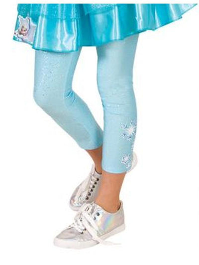 Elsa Footless Tights - Size 3-5-Leg Wear-Jokers Costume Hire and Sales Mega Store