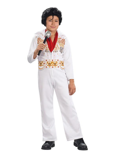 Elvis Child Costume - Size L-Costumes - Boys-Jokers Costume Hire and Sales Mega Store