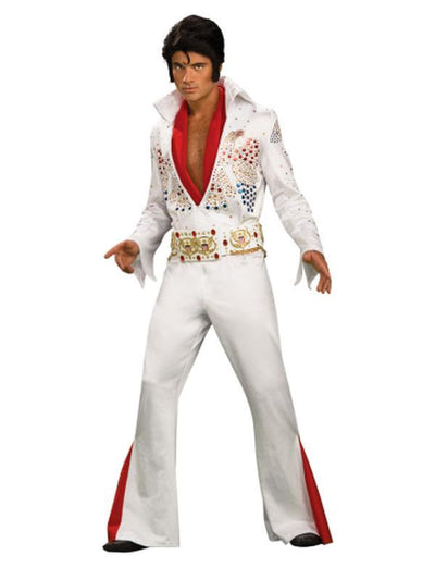 Elvis Collector'S Edition - Size Xl-Costumes - Mens-Jokers Costume Hire and Sales Mega Store