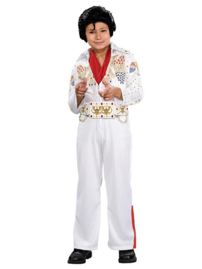 Elvis Deluxe Child Costume - Size M-Costumes - Boys-Jokers Costume Mega Store