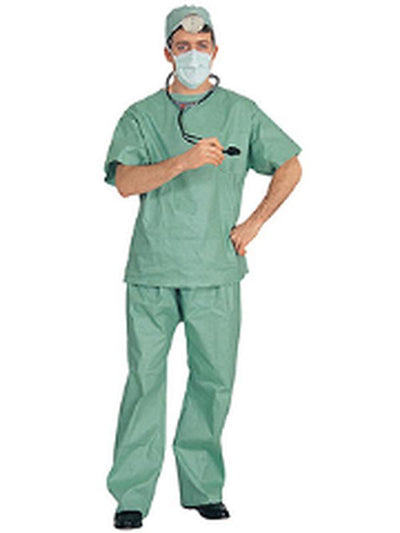 Er Doctor Costume - Size Std-Costumes - Mens-Jokers Costume Hire and Sales Mega Store