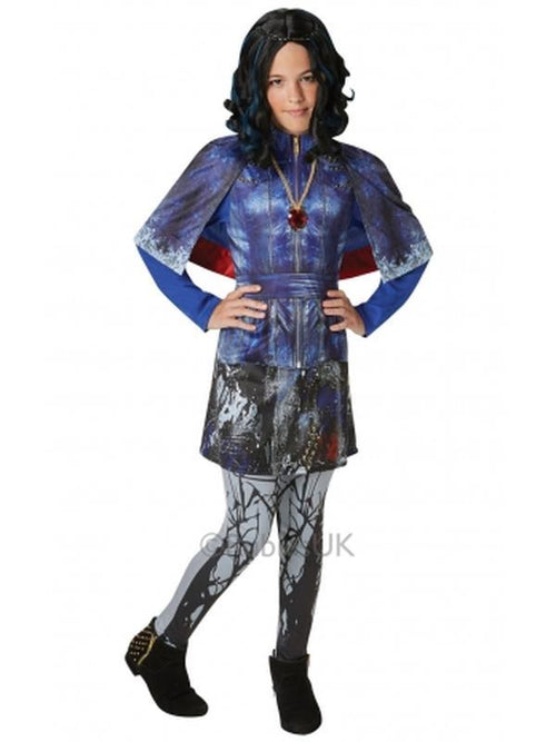 Evie Descendants Deluxe - Size L-Costumes - Girls-Jokers Costume Hire and Sales Mega Store
