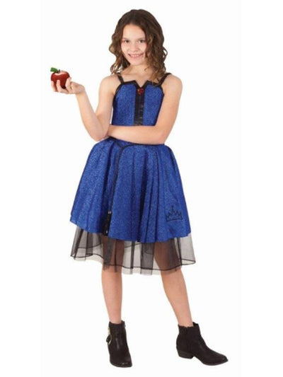 Evie Descendants Preppy Punk - Size 9-12-Costumes - Girls-Jokers Costume Hire and Sales Mega Store