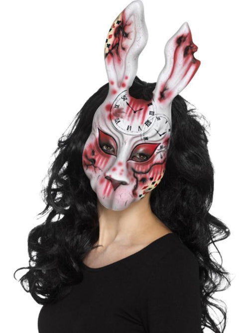 Evil Bunny Mask-Masks - Basic-Jokers Costume Hire and Sales Mega Store
