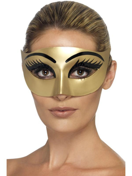 Evil Cleopatra Eyemask-Masks - Basic-Jokers Costume Hire and Sales Mega Store