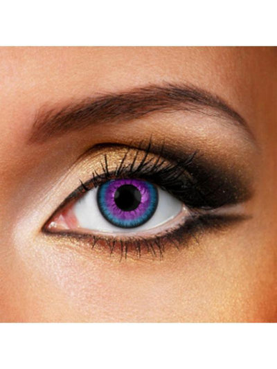 Eye Fusion 3 Month - Galaxy-Contact Lens - Eye Fusion 3 Months-Jokers Costume Hire and Sales Mega Store