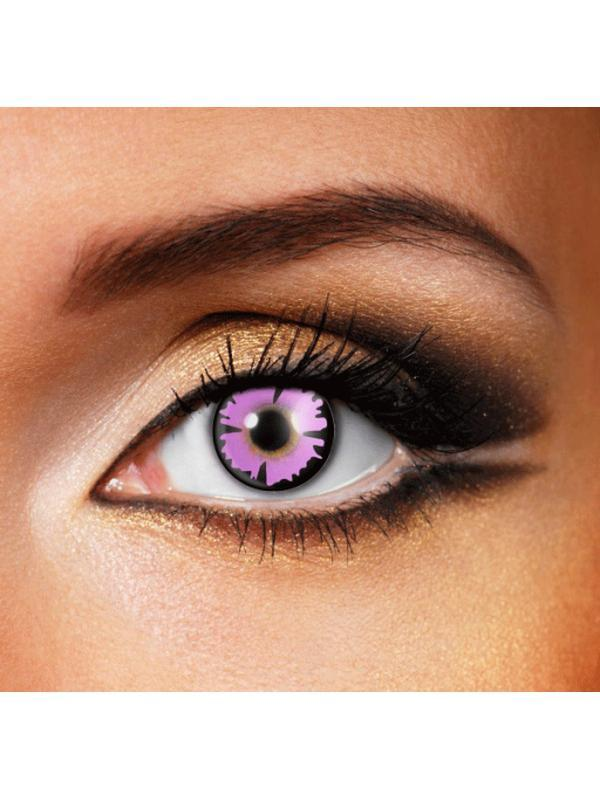 Eye Fusion 3 Month - Purple Witch-Contact Lens - Eye Fusion 3 Months-Jokers Costume Hire and Sales Mega Store