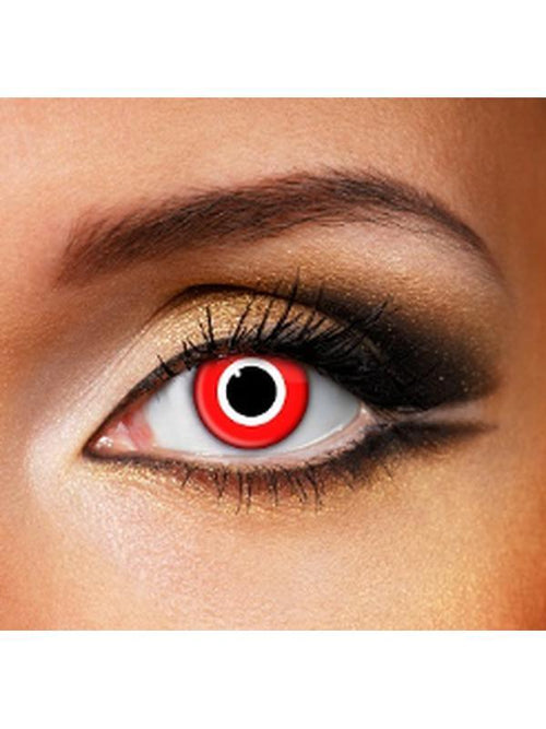 Eye Fusion One Day - Assasin-Contact Lens - Eye Fusion One Day-Jokers Costume Hire and Sales Mega Store