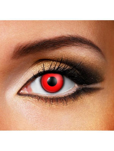 Eye Fusion One Day - Blood Red-Jokers Costume Mega Store