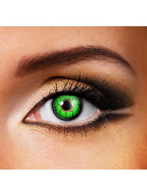 Eye Fusion One Day - Goblin-Contact Lens - Eye Fusion One Day-Jokers Costume Hire and Sales Mega Store