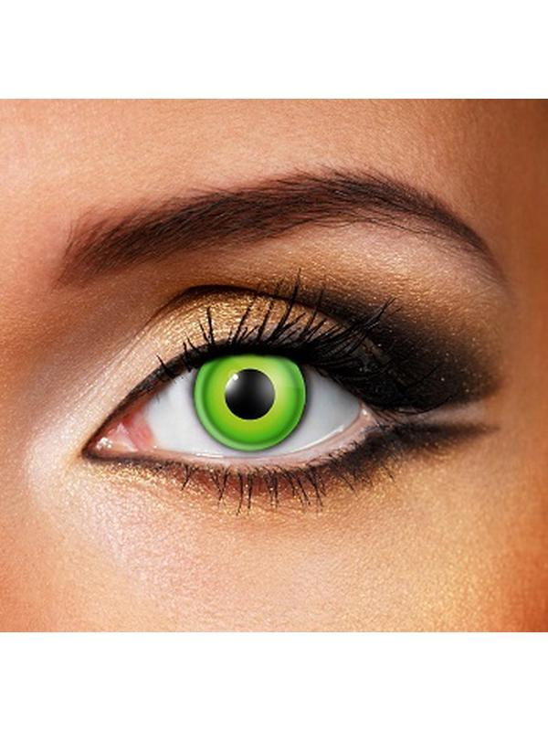 Eye Fusion One Day - Hulk-Contact Lens - Eye Fusion One Day-Jokers Costume Hire and Sales Mega Store