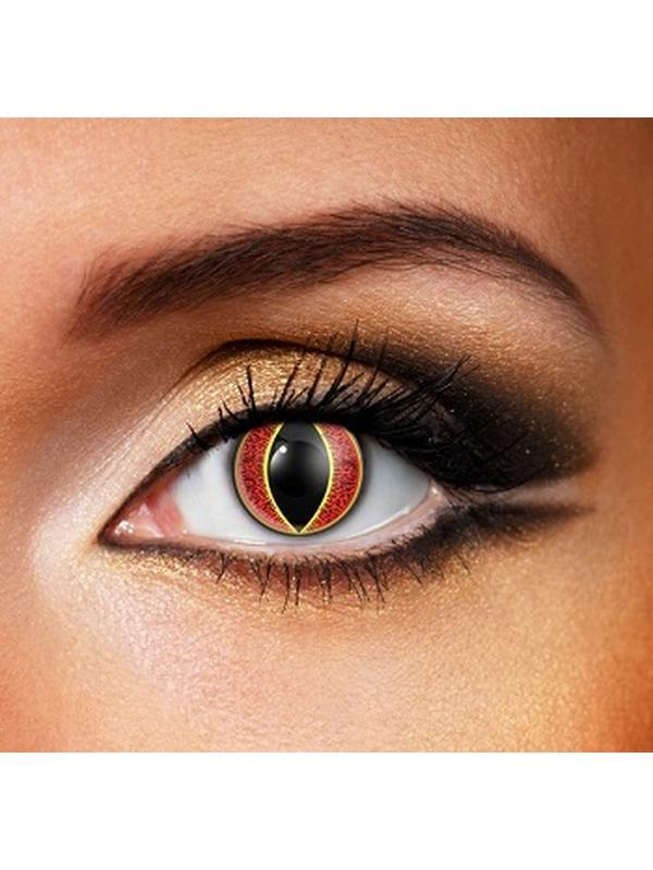 Eye Fusion One Day - Sauron-Contact Lens - Eye Fusion One Day-Jokers Costume Hire and Sales Mega Store