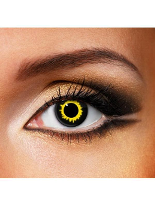 Eye Fusion One Day - Wolf-Contact Lens - Eye Fusion One Day-Jokers Costume Hire and Sales Mega Store