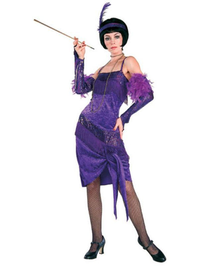 Fabulous Flapper - Size Std-Costumes - Women-Jokers Costume Hire and Sales Mega Store