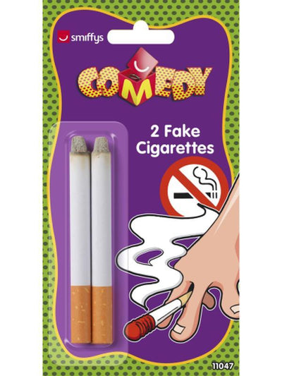 Fake Cigarettes, 2 pcs-Costume Accessories-Jokers Costume Mega Store
