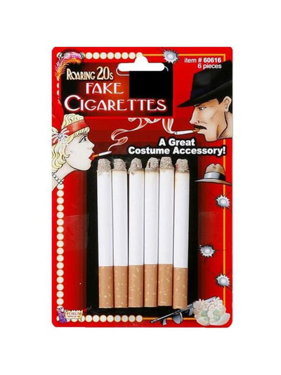 Fake Cigarettes 6 Pces-Costume Accessories-Jokers Costume Mega Store