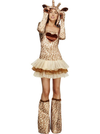 Fever Giraffe Costume, Tutu Dress-Costumes - Women-Jokers Costume Hire and Sales Mega Store