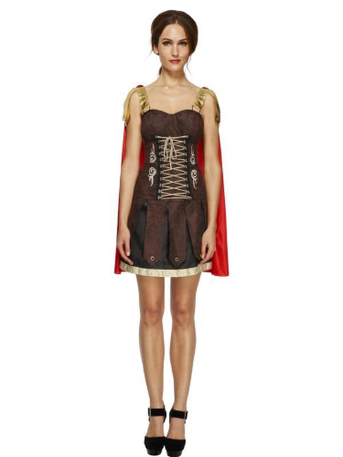 Fever Gladiator Costume-Costumes - Women-Jokers Costume Hire and Sales Mega Store