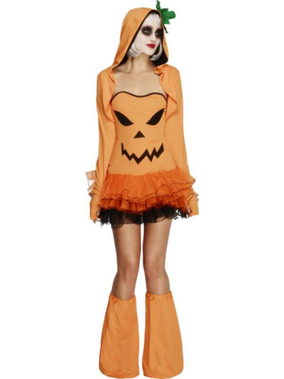 Fever Pumpkin Costume Tutu Dress-Costumes - Women-Jokers Costume Hire and Sales Mega Store
