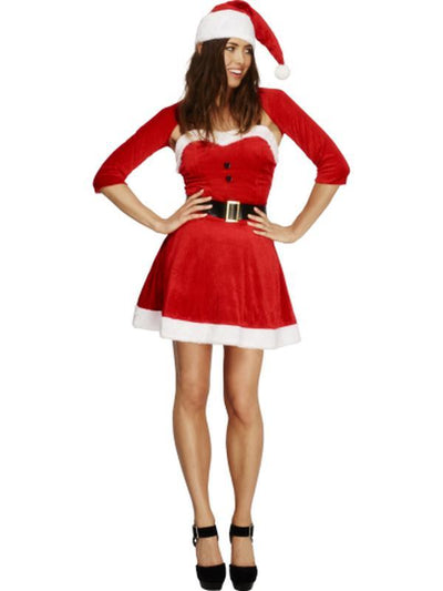 Fever Santa Babe Costume-Costumes - Women-Jokers Costume Hire and Sales Mega Store