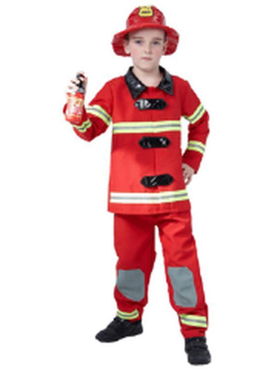 Fireman - Child - Large***-Costumes - Boys-Jokers Costume Hire and Sales Mega Store