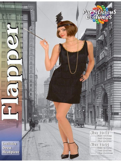 Flapper-Costumes - Women-Jokers Costume Hire and Sales Mega Store