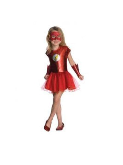 Flash Tutu Costume - Size S-Costumes - Girls-Jokers Costume Hire and Sales Mega Store