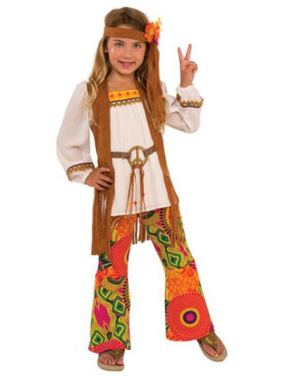 Flower Child Costume - Size M-Costumes - Girls-Jokers Costume Hire and Sales Mega Store