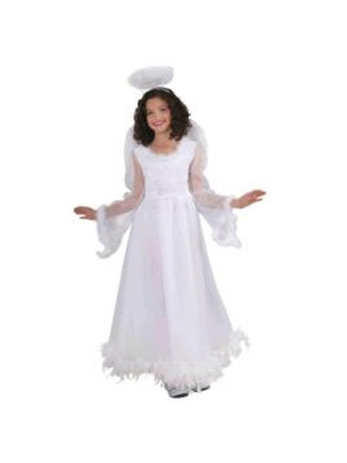 Fluttery Angel Costume - Size S-Costumes - Girls-Jokers Costume Hire and Sales Mega Store