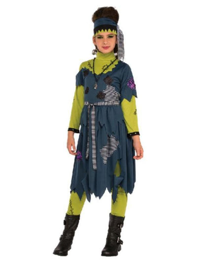 Franny Stein Teen Costume - Size S-Costumes - Girls-Jokers Costume Hire and Sales Mega Store