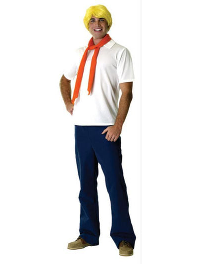 Fred Adult Costume - Size Std-Costumes - Mens-Jokers Costume Hire and Sales Mega Store