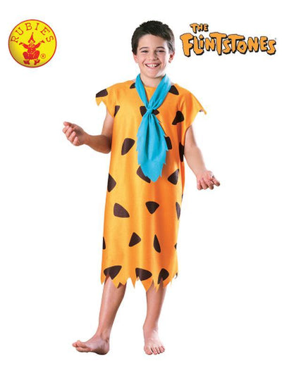 FRED FLINTSTONE CLASSIC COSTUME, CHILD - SIZE SMALL-Costumes - Boys-Jokers Costume Hire and Sales Mega Store
