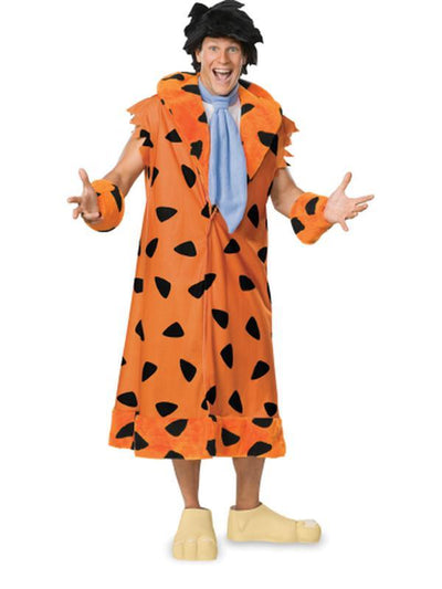 Fred Flintstone Deluxe Costume - Size Xl-Costumes - Mens-Jokers Costume Hire and Sales Mega Store