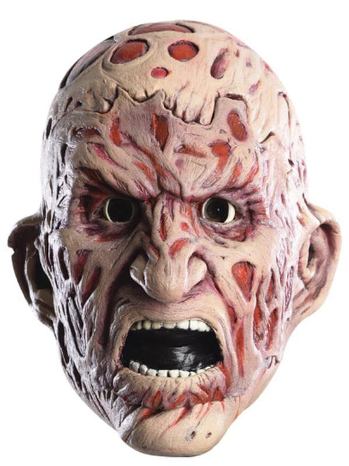 Freddy Double Mask-Masks - Latex-Jokers Costume Hire and Sales Mega Store