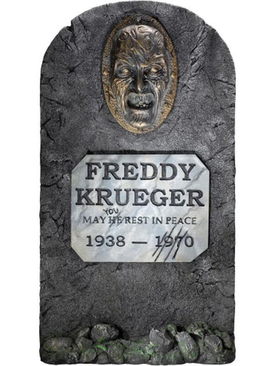 Freddy Headstone-Halloween Props and Decorations-Jokers Costume Mega Store