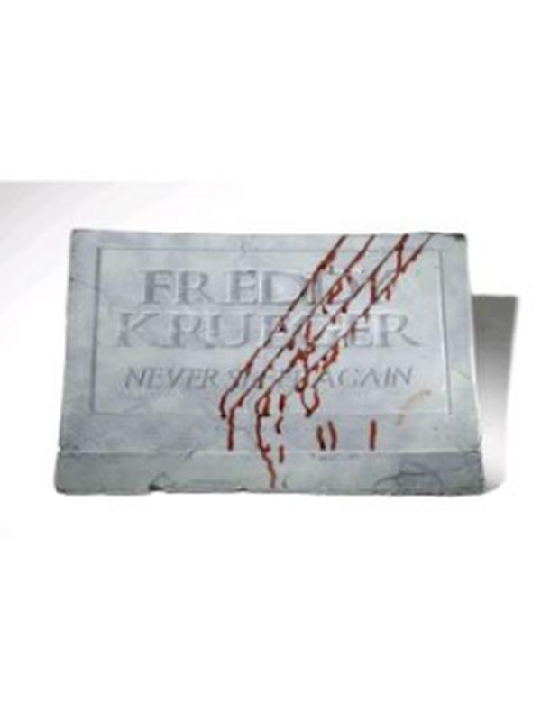 freddy krueger footstone halloween props and decorations jokers costume hire and sales mega store
