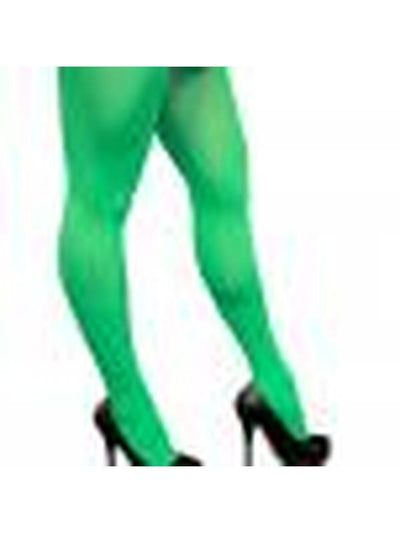 Full Length Color Tights - Green-Leg Wear-Jokers Costume Hire and Sales Mega Store