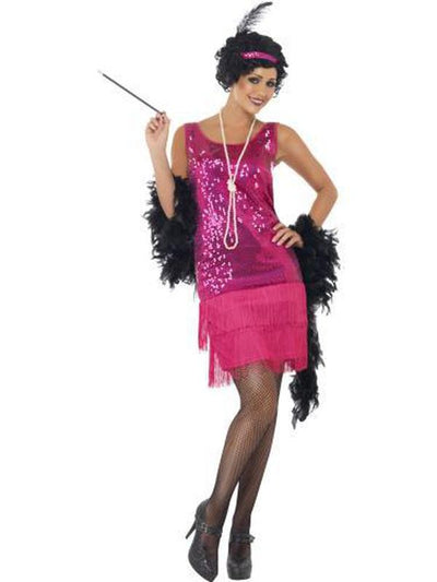 Funtime Flapper Costume-Costumes - Women-Jokers Costume Hire and Sales Mega Store