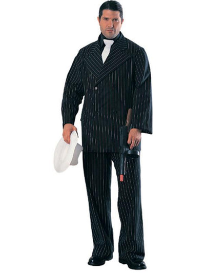 Gangster Deluxe Costume - Size Xl - Jokers Costume Mega Store